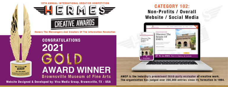 Hermes Gold Award Website